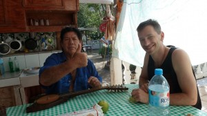 Kaliko spends time with his very good friend, Morisi, in the Marquesas, Summer 2011