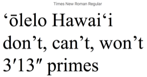 a picture of hawaiian written by a computer