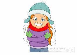 a cold girl