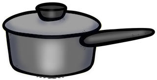 a small pot