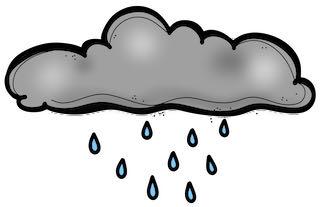 cloud raining
